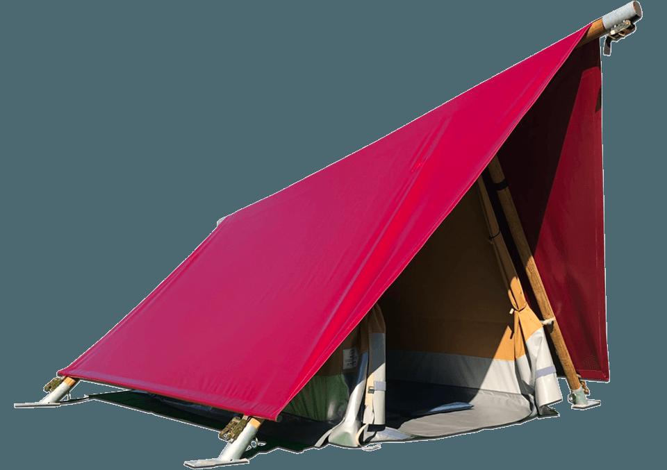 Delta tent