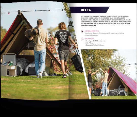 Rechargers - Temporäre Glamping-Unterkünfte - Brochure